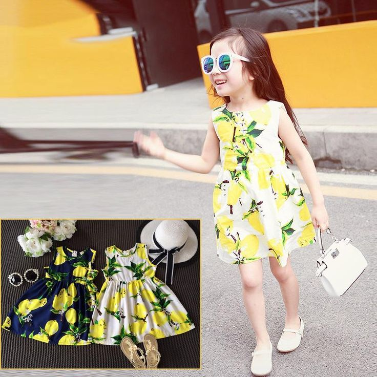 Style fashion casual girl dresses