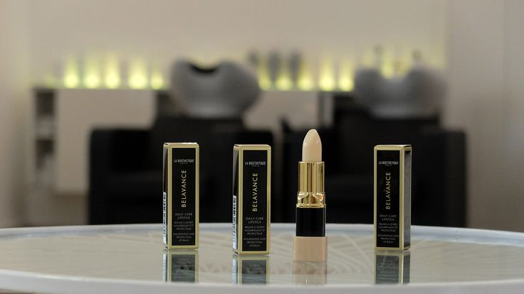 """""""BELAVANCE DAILY CARE LIPSTICK"""" from La Biosthetique: An intensively moisturising soft and rich lip balm that gives dry, chapped lips and instant feeling of well being and softness. Enriched with Vitamins E, C and nutrient agents like shea butter, propolois and aloe vera. Available at our salon www.silkevonrolbiezki.com  Der Intensiv-Lippenpflege-Stift DAILY CARE LIPSTICK von La Biosthetique spendet dezenten Satin-Glanz und viel Feuchtigkeit. Erhältlich bei uns im Salon…"""