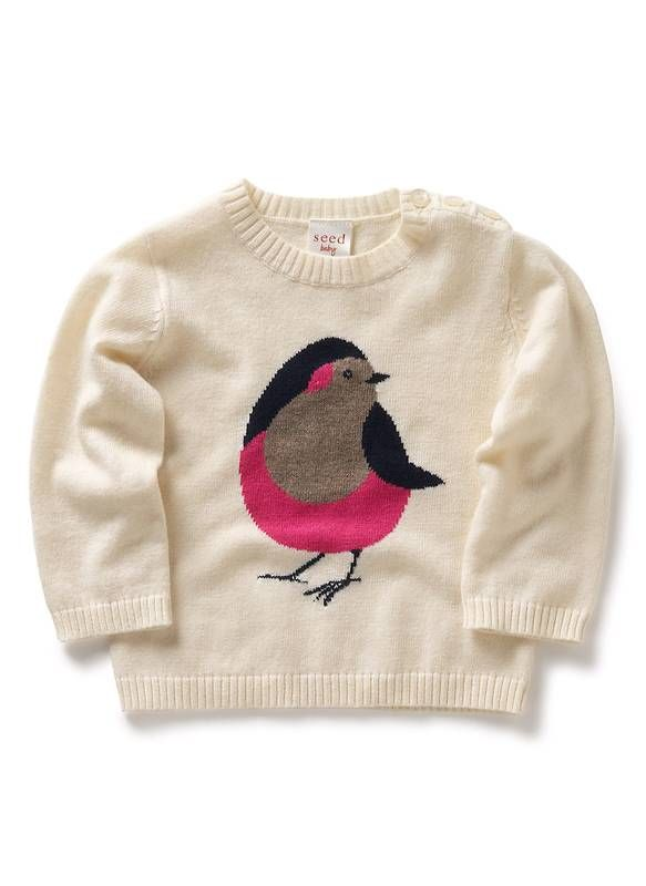 Seed HeritageBirds Sweaters, Birds Art, Kids Style, Little Birds, Adorable Sweaters, Seed Heritage, Baby Girls, Seeds Heritage, Knits