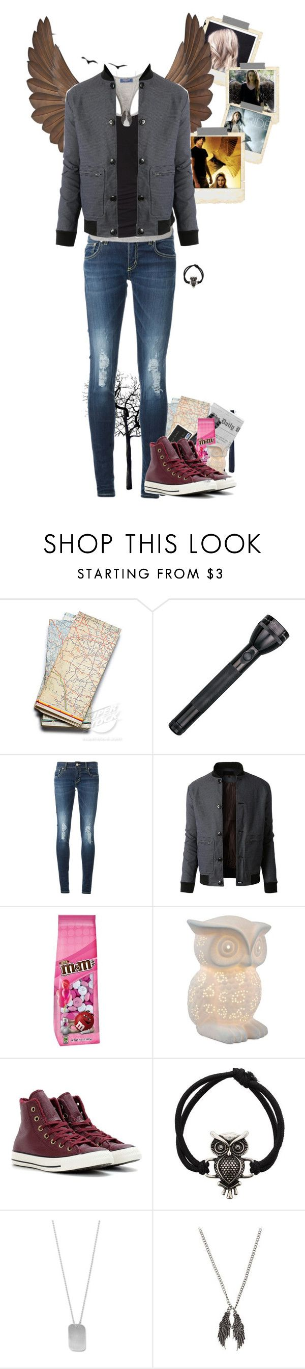 """""""Maximum 'Max' Ride"""" by little-miss-otp ❤ liked on Polyvore featuring Polaroid, Dondup, LE3NO, All the Rages, Converse, Fad Treasures, BillyTheTree, reading, books and maximumride"""