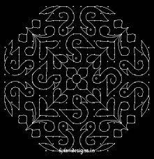 Image result for dot rangoli designs