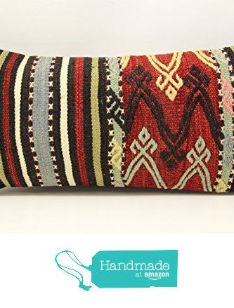 Handmade kilim pillow cover 12x24 inch (30x60 cm) Bohemian Kilim pillow cover Chair pillow Accent Pillow cover Kilim Cushion Cover from Kilimwarehouse https://www.amazon.com/dp/B073RS7RXV/ref=hnd_sw_r_pi_dp_K20xzb5FTK0NR #handmadeatamazon