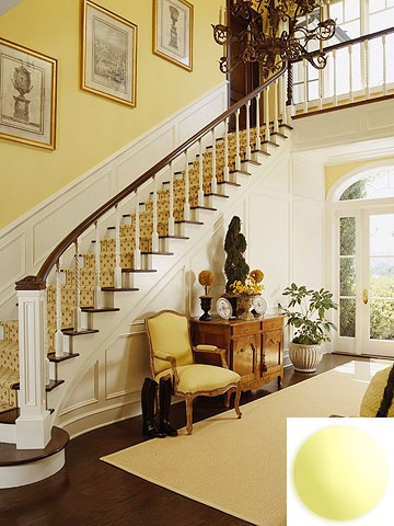 I've always wanted a traditional grand staircase.