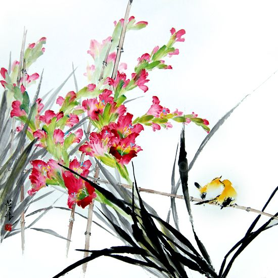 Flower ang Birds,The Art of James Tan