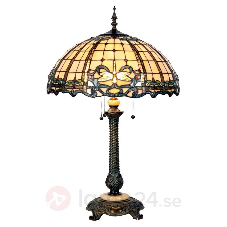 Underbar golvlampa Atlantis i Tiffanydesign beställ säkert & bekvämt på Lamp24.se.