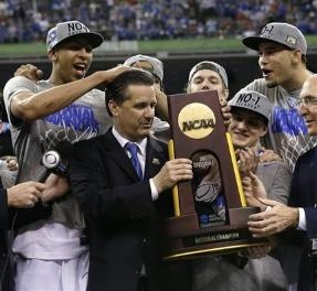 """WHAS11 sports bloggers """"Fan Man Dan"""" and """"NickiSue's view"""" debate the system of """"one and dones"""" in modern college basketball.: Big Blue, Blue Nation, Uk Cats, Coach Needed, Big Win, Wildcat Blue, Coaches, Kentucy Wildcats, Kentucky Wildcats"""