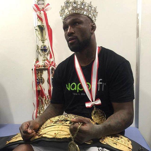 Fighter of the day: Muhammed Lawal #MuhammedLawal #kingmo #mma #strikeforce #mixedmartialarts #champion #ufc #bellator #wsof #onefc