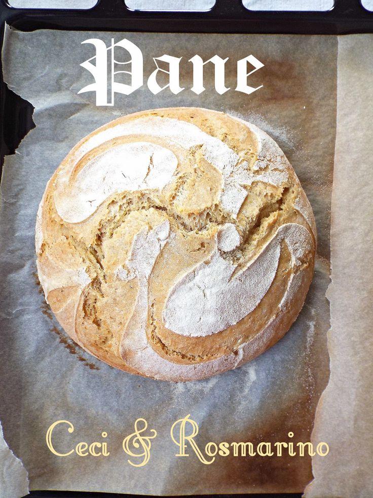 I biscotti della zia: Pane ai ceci e rosmarino