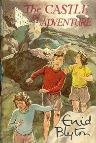The Castle of Adventure by Enid Blyton  I loved all her adventure series books.  I got them at the library.  Now I have them from eBay.