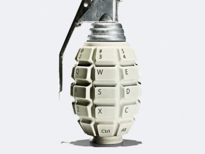 "Norton Internet Security ""Grenade"" Ad by Leo Burnett"