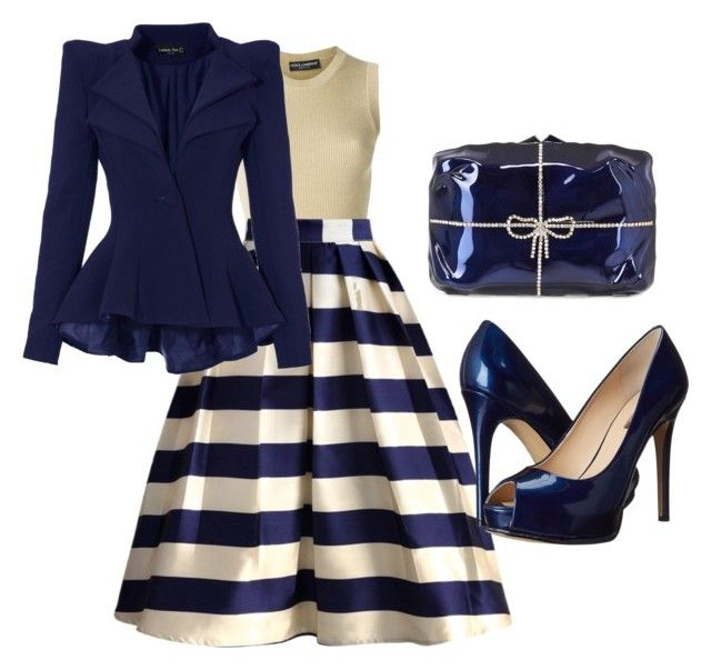 Fancy Blue by apostolicprincess2013 on Polyvore featuring polyvore fashion style Dolce&Gabbana Chicwish GUESS Benedetta Bruzziches clothing apostolicprincess