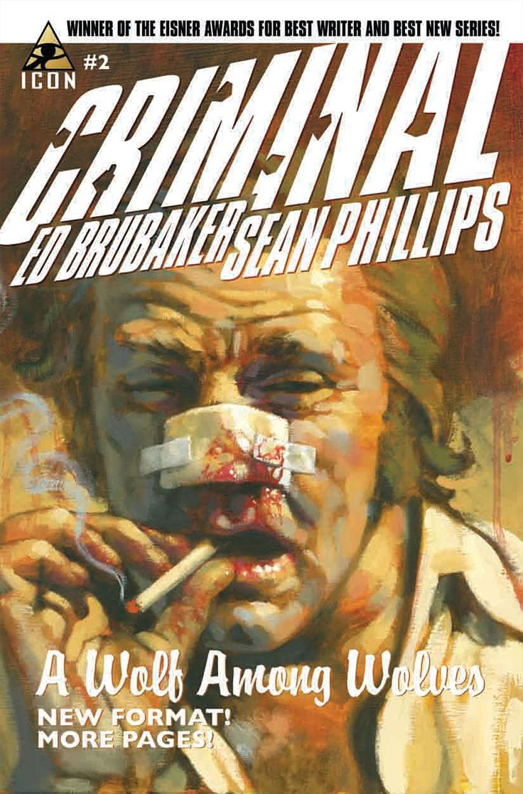 Criminal by ed brubaker and sean phillips they own the drifter grafter loner