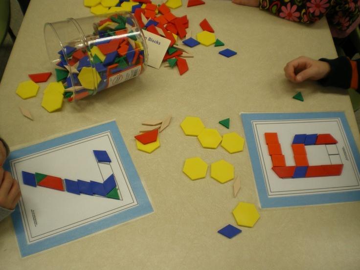 Mrs. Bremer's Kindergarten: Math Work Stations
