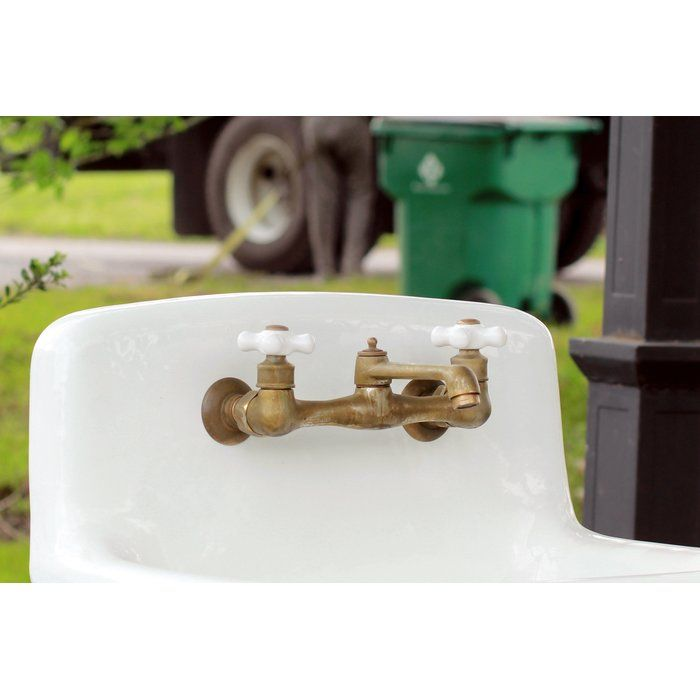 Wall Mount Short Swivel Spout Bridge Faucet With Images