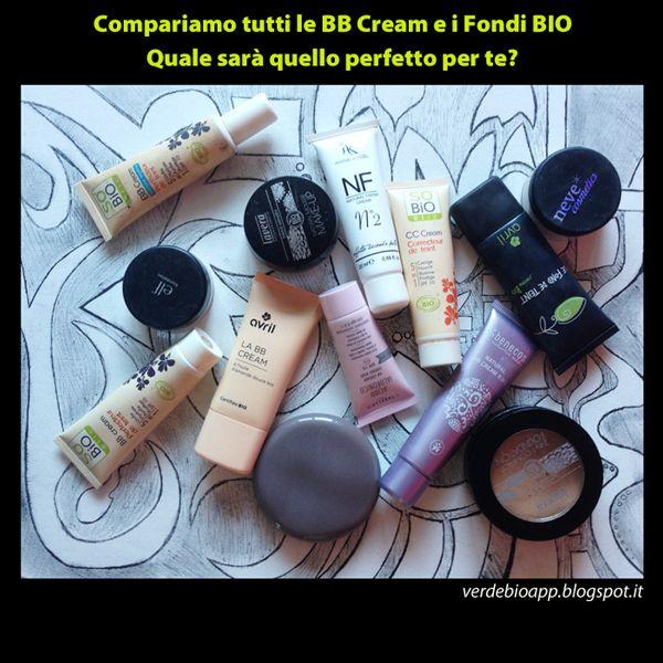 Scheda Comparativa BB Cream / CC Cream / Fondotinta Bio - Scopri quello perfetto per te! ~ È verde? - App sui Cosmetici BIO