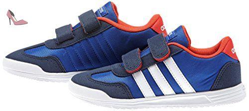adidas VS Dino Cmf C, Chaussures de Sport Unisexe-Bébé, Multicolore-Azul / Blanco / Rojo (Azul / Ftwbla / Rojbri), 31 EU - Chaussures adidas (*Partner-Link)