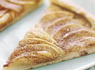 Cinnamin Apple Pizza - I will add a struesel & glaze to mine...delish!