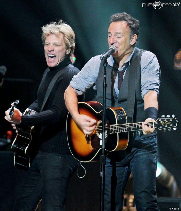 Bruce Springsteen & Bon Jovi.