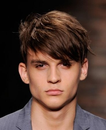 9 best haircuts for men with big foreheads images on