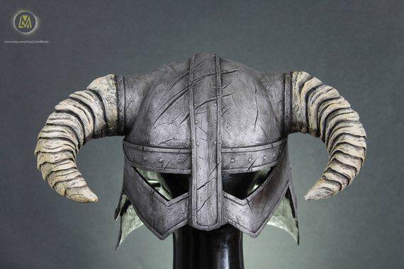 The Elder Scrolls V Skyrim Dovahkiin Iron Helmet Dragonborn Halloween Costume Birthday Gift Cosplay Elder Scrolls V Skyrim Skyrim Halloween Store