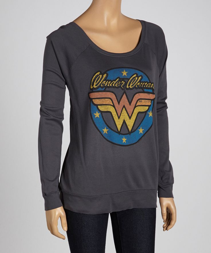Charcoal Wash Wonder Women Sweatshirt