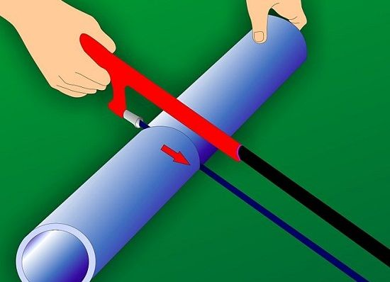 How to cut PVC Pipes when setting your homemade hydroponic at home. It easy to make a Homemade hydroponic systems pvc pipe