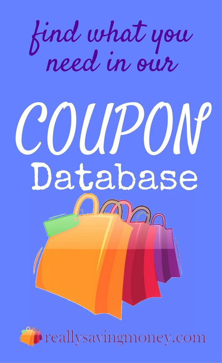 Up to date coupon database for all your coupon matching needs | couponing | drug store coupons | grocery store coupons | extreme couponing | save money | saving money | frugal living | shopping | sales | clipping coupons | printable coupons |