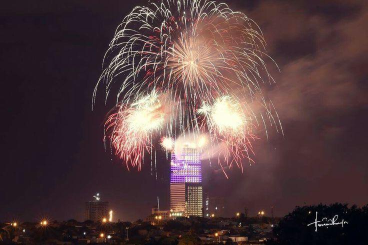 Bahria icon tower Karachi Pakistan