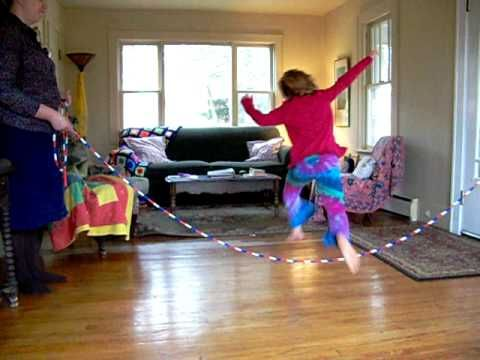 Beginning Jumping rhymes here http://homespunwaldorf.com/wordpress/2012/02/play-jump-rope-games/#more-741