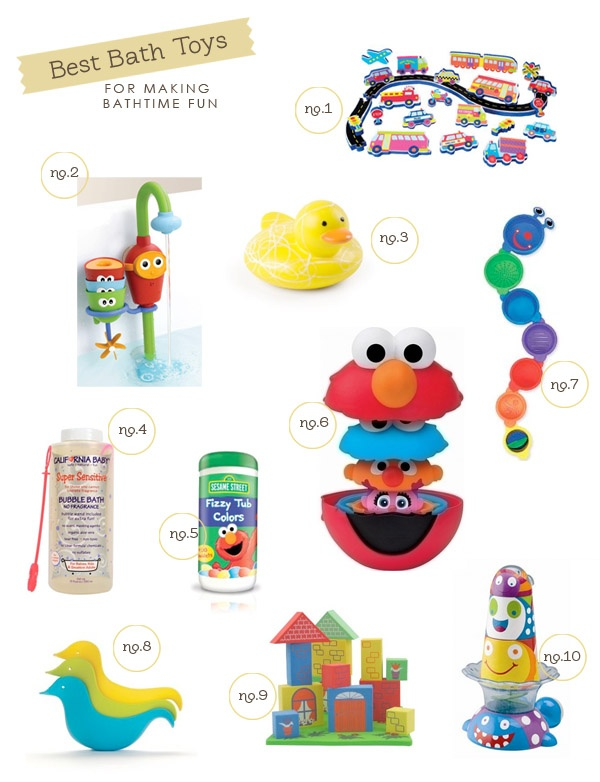 best bath toys