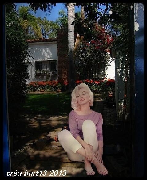 Artwork of marilyn at 12305 fifth helena by crea burt fb 12305 fifth helena drive brentwood california