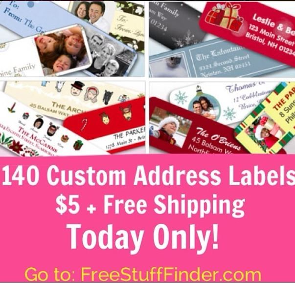 693 best images about Freebies – Free Address Labels Samples