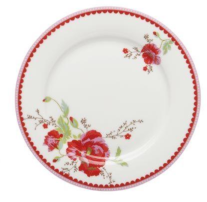 Cake Plate Poppy - Room Seven - www.lotsofballoons.com