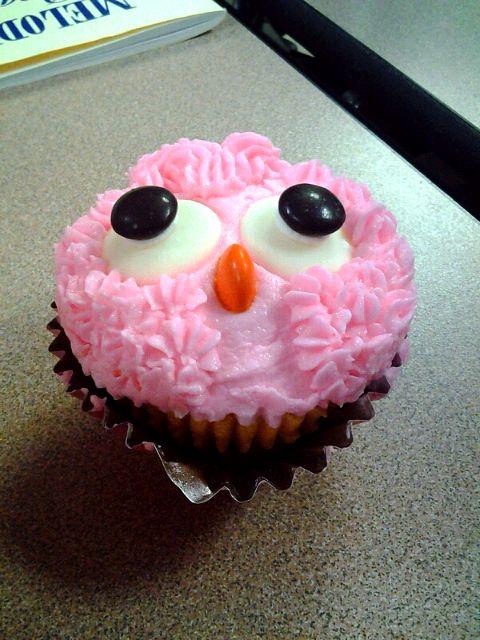 レシピとお料理がひらめくSnapDish - 43件のもぐもぐ - Owl Cupcake by cassie