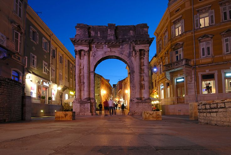 Gate of Heracles in Pula