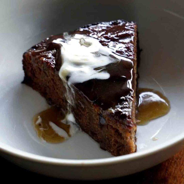 You'll forget all about how cold it is outside once you treat yourself to a large piece of this gluten free Sticky Date Pudding Cake.