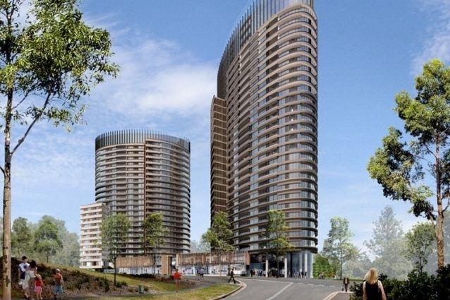 Proposal: Australia Towers II - Sydney Olympic Park