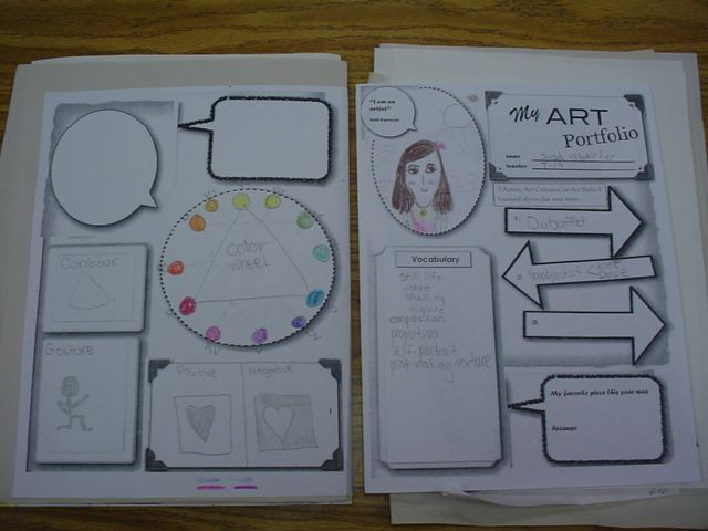 Best 25 art handouts ideas on pinterest principals of for Adopt an element project ideas