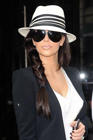 black aviator sunglasses kim kardashian