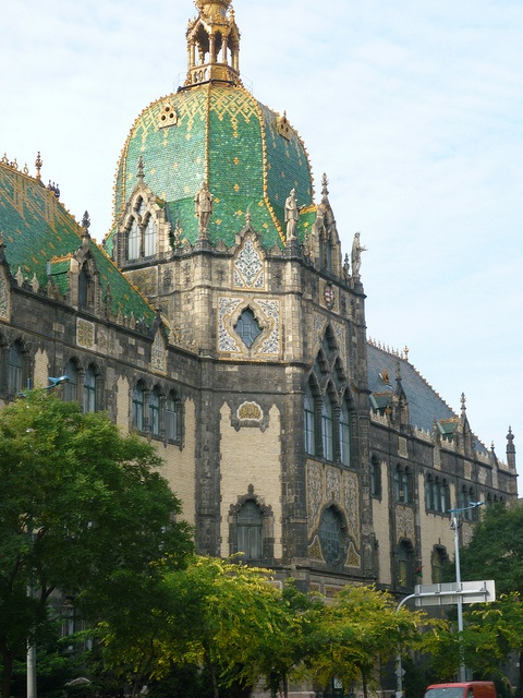 Museum of Applied Arts, Budapest, Hungary by Gerry Brague.