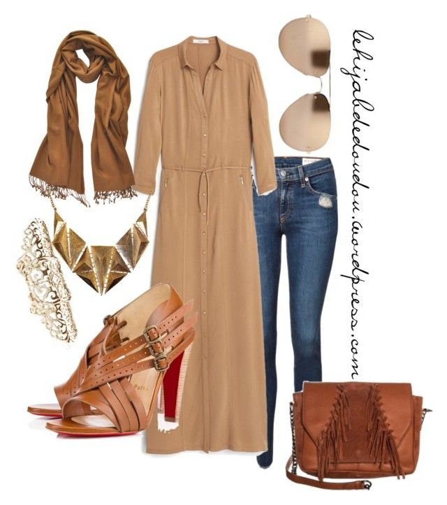 """""""hijab outfit"""" by le-hijab-de-doudou ❤ liked on Polyvore"""