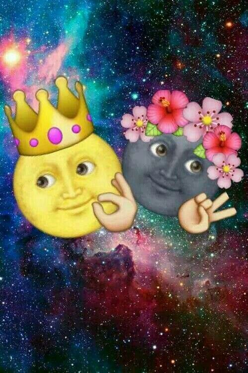 MOON AND SUN Emoji