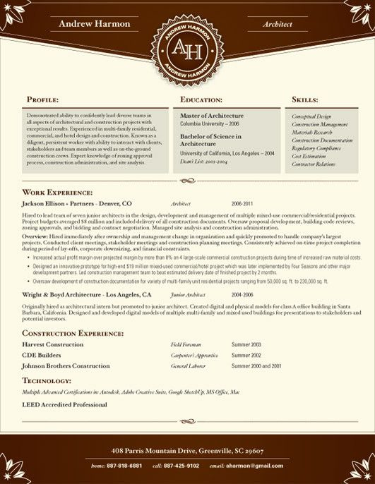 10 best CV images on Pinterest Creative curriculum, Resume - resume services denver