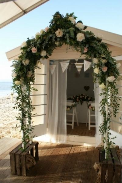 Beach wedding in Bournemouth