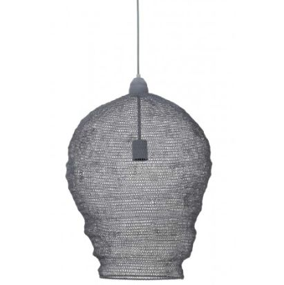 Grey Wire Pendant Lamp O45X60cm To Order GBP85