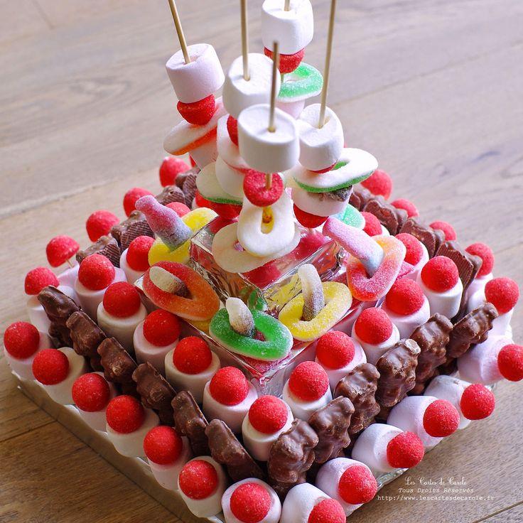 Favorit Les 25 meilleures idées de la catégorie Gateau de bonbon sur  LG78