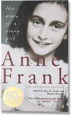 The Diary of a Young Girl by Anne Frank. Never had a chance to read this yet, either.
