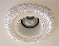 """Recessed Light trim Victorian Style for 3"""" recessed lights"""