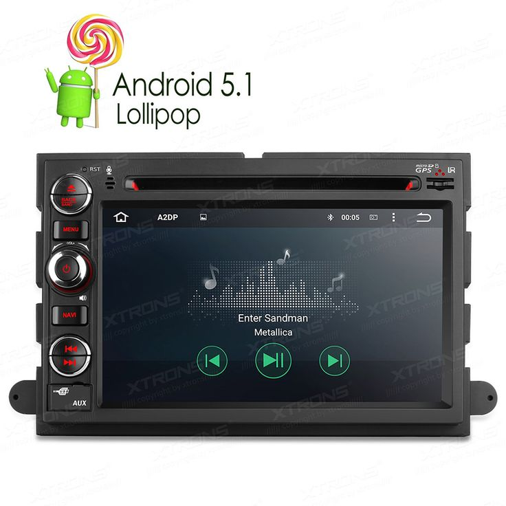 buy newest 7 android 5 1 lollipop quad core car dvd gps for ford mustang edge explorer kuga f 150 hybird #edge #network