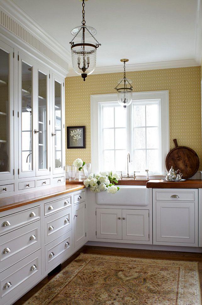 Traditional White Kitchen Ideas